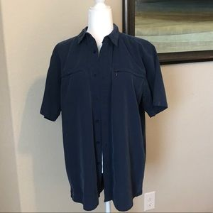 North face short sleeve button up